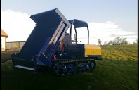 Canycom S25A Tracked Dumper, Straight Tip