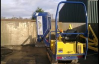 Canycom S160 Tracked Dumper, Swivel Skip