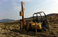 3T Canycom with 180 swivel  Fence post Chapper