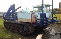 Morooka MST2300 Tracked Flatbed with HIAB