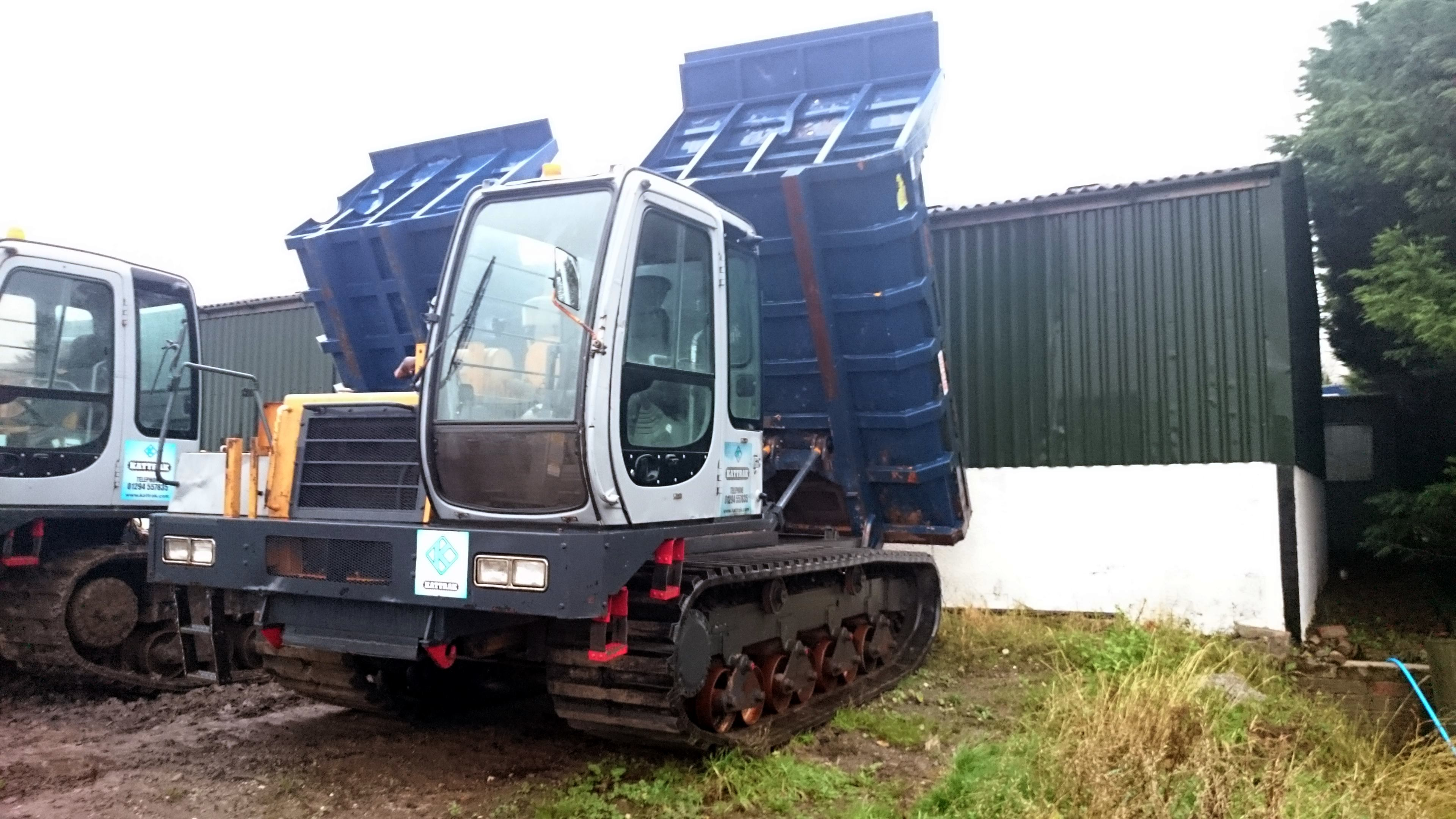 10 ton tracked dumper hire for sale