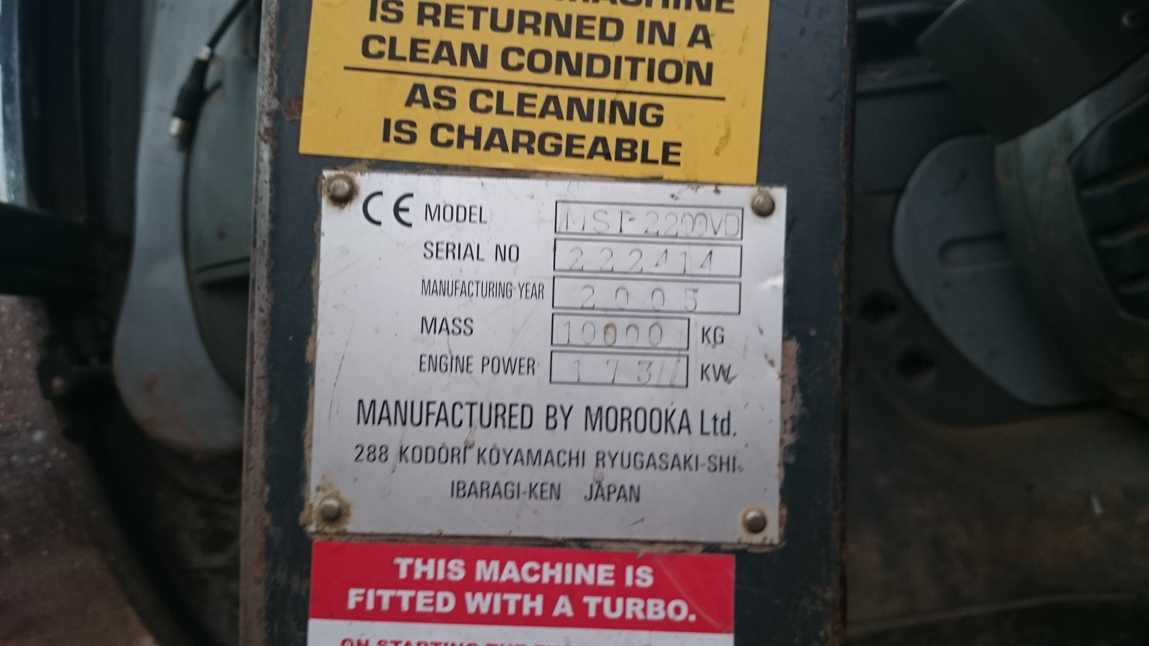Morooka MST200 VD for hire or sale