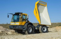 Bergmann 3012 R Wheeled Dumper, Swivel Skip, Articulated