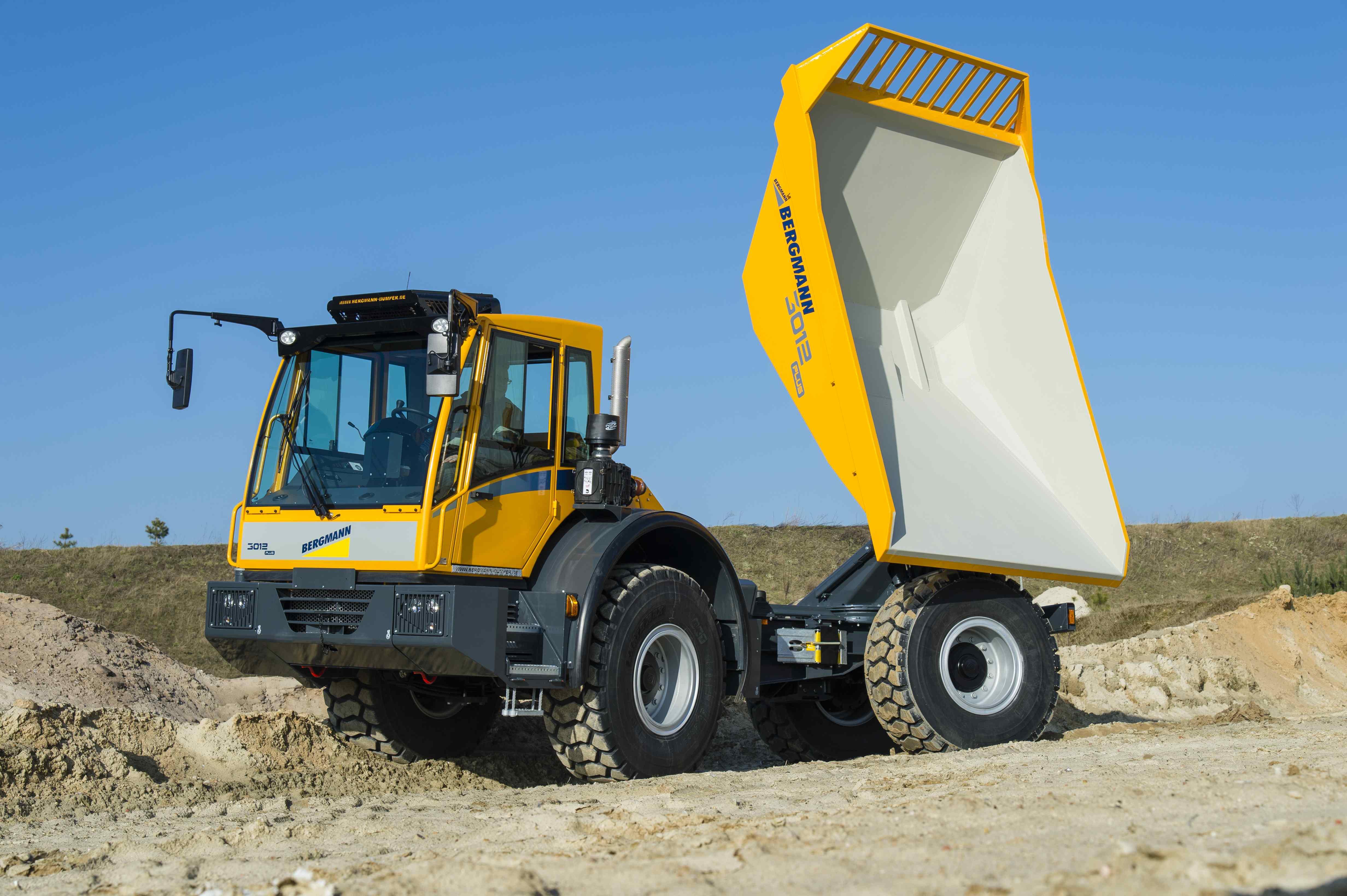 Bergmann 3012 R Swivel-Tip Tracked Dumper
