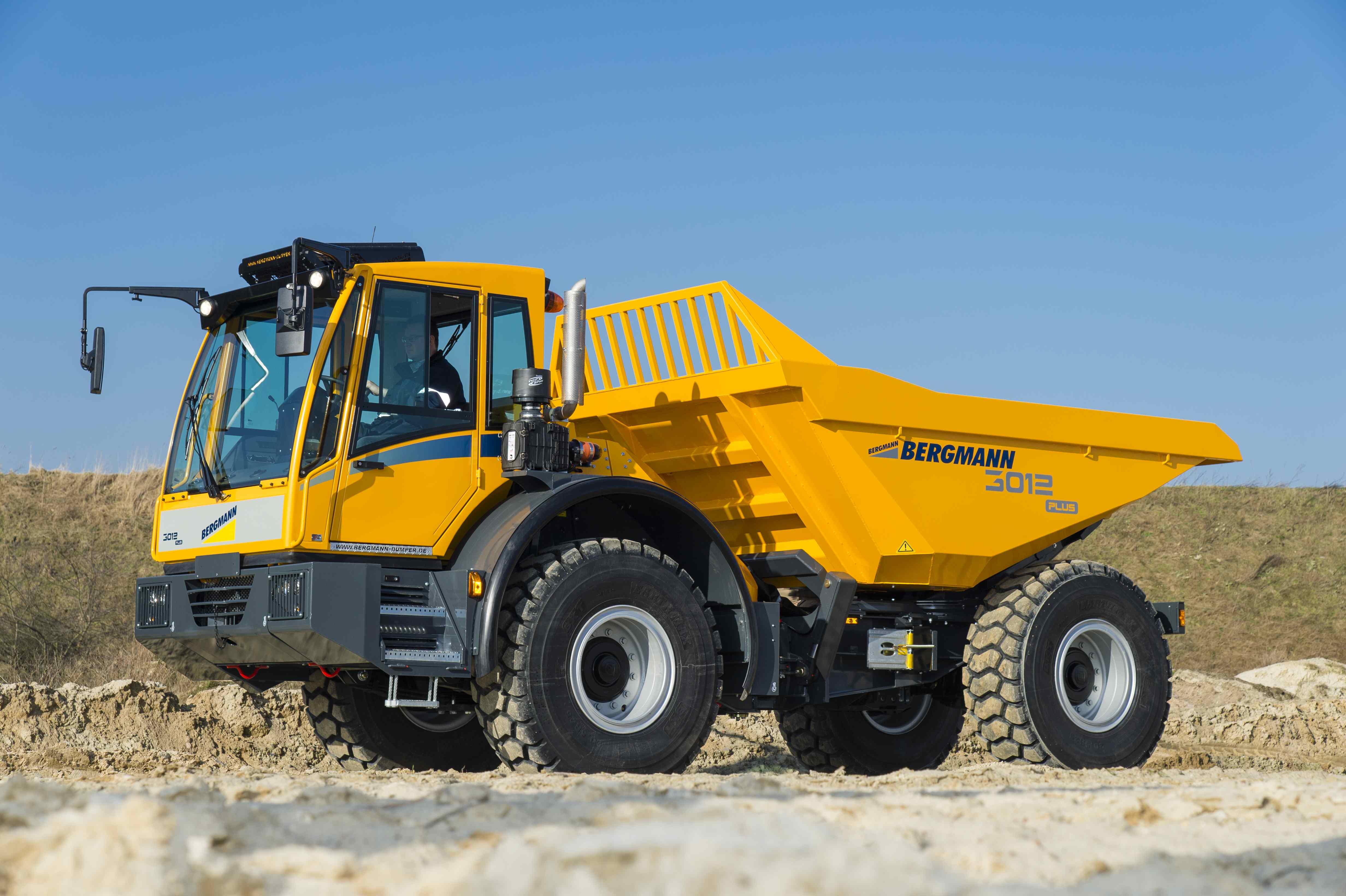 Bergmann 3012R Swivel-Tip Tracked Dumper