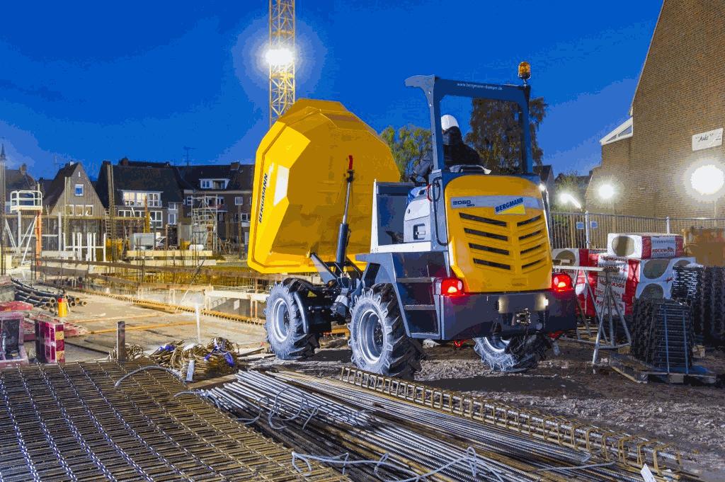 Bergmann 2060 R+ Tracked Dumper