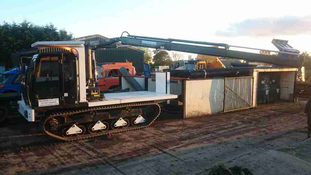 8T Tracked Pipeline Dumper