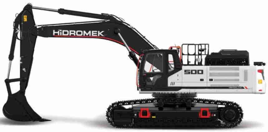 Hidromek HMK 500 LC HD