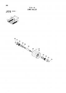 Hitachi EG40R-C botom roller